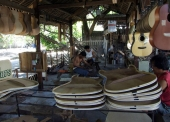 Factory of Hand made guitar