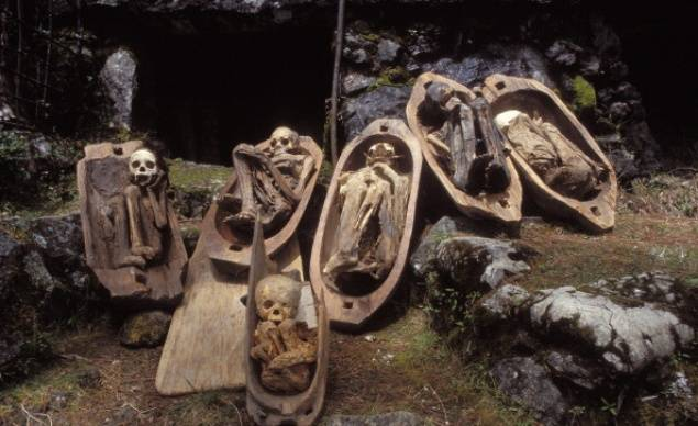 Mummies of Timbac Cave